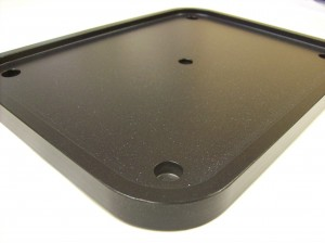 Heat sealing plate for food packaging
