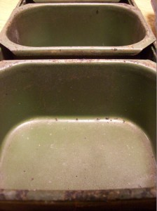 Bakeware Before Picture