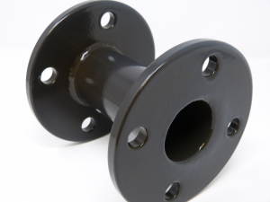 Shaft with chemically resistant coating